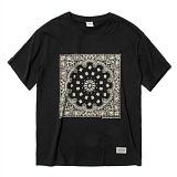 [세인트페인]SAINTPAIN - SP 17S PAISLEY TEE SS-BLACK 반팔티 티셔츠