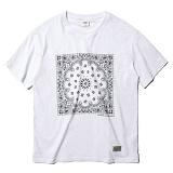[세인트페인]SAINTPAIN - SP 17S PAISLEY TEE SS-WHITE 반팔티 티셔츠