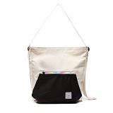 [스타일플랜] STYLEPLAN GINI RAINBOW CROSS BAG (BLACK)_숄더백 크로스백 메신저백