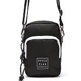 [스타일플랜] STYLEPLAN RAINBOW MINI CROSS BAG (BLACK)_미니크로스백