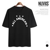 뉴비스 - 아메리카별 나염 반팔티셔츠 (CC123TS)