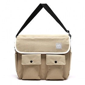 [스타일플랜] STYLEPLAN UMM  MESSENGER BAG (BEIGE) 메신저백 크로스백
