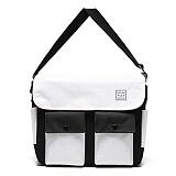 [스타일플랜] STYLEPLAN UMM  MESSENGER BAG (WHITE) 메신저백 크로스백