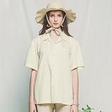 [아파트먼트]Debasic shirts - Cream베이직 반팔셔츠 남방