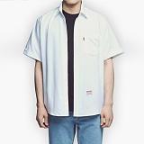[아파트먼트]Usual Essential Shirts - White 반팔셔츠 남방