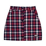 [아파트먼트]Foolish Skirt - Red 체크 스커트 치마