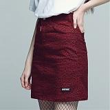 [아파트먼트]Fringing Skirt - Burgundy 스커트 치마
