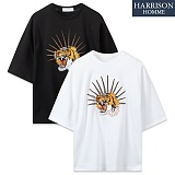 [해리슨] 호랑이 자수 반팔T SPG1183