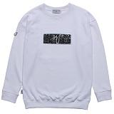 [고디크] GOTHICQUE - Glitter sweat shirt (WHITE) 맨투맨 스��셔츠