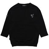 [고디크] GOTHICQUE - Overnight sweat shirt (BLACK) 반팔 맨투맨