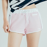 [모티브] MOTIVE - SIDELINE SHORT PANTS PINK 반바지 숏팬츠