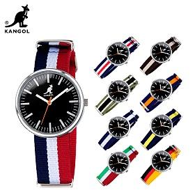 캉골(KANGOL)시계 KG11044 GLORY-BL CASUAL 나토밴드 시계