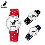 캉골(KANGOL)시계 KG11232_3 CENTER LEATHER MIX 나토밴드 시계