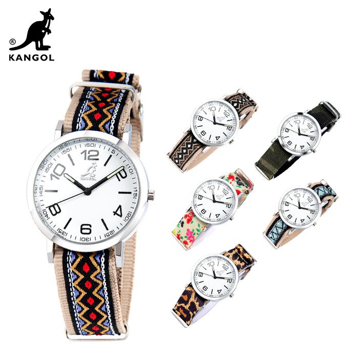 캉골(KANGOL)시계 KG11132_4 NUMBER PATTERN 나토밴드 시계