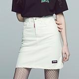 [아파트먼트]Normal Skin Skirt - Ivory 스커트 치마