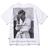 [그루브라임]Grooverhyme - 2017 OMBRE PICTURE (WHITE) [GT068F23WH] 반팔티 티셔츠