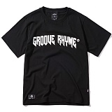 [그루브라임]Grooverhyme - 2017 GT068F23WH (BLACK) [GT069F23BK] 반팔티 티셔츠