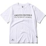 [그루브라임]Grooverhyme - 2017 INTERNATIONAL MAP (WHITE) [GT070F23WH] 반팔티 티셔츠