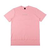 [아이넨]EINEN-Peerless Doubleside 1/2 T-Shirts Pink 반팔티