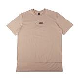 [아이넨]EINEN-Peerless Doubleside 1/2 T-Shirts Cream Beige 반팔티