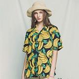 [아파트먼트]Monkey Shake It Shirts - Navy 하와이안 반팔셔츠 남방