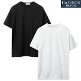 [해리슨] 슬라브 라운드 반팔 티셔츠 WMD1015