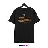 [슈퍼레이티브] superlative - [7J5012] COLOR LETTERING 반팔 티셔츠 - 반팔 티셔츠 - 5컬러