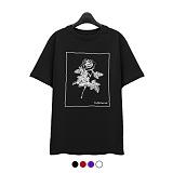 [슈퍼레이티브] superlative - [7J5014] ROSE 반팔 티셔츠 - 반팔 티셔츠 - 4컬러