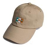 프랭크도미닉 - SHARK ICON BALL CAP(BEIGE) 볼캡