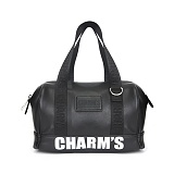 [참스]CHARMS - PUBERTY MICRO BOSTON BAG BLACK 미니 토트백 보스턴백