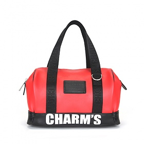[참스]CHARMS - PUBERTY MICRO BOSTON BAG RED 미니 토트백 보스턴백
