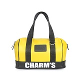 [참스]CHARMS - PUBERTY MICRO BOSTON BAG YELLOW 미니 토트백 보스턴백