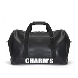 [참스]CHARMS - PUBERTY Boston bag BLACK 보스턴백