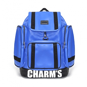 [참스]CHARMS - PUBERTY Leather backpack BLUE 레더 포켓 백팩