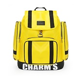 [참스]CHARMS - PUBERTY Leather backpack YELLOW 레더 포켓 백팩