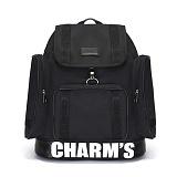 [참스]CHARMS - PUBERTY Cordura backpack BLACK 코듀라 포켓 백팩