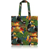 [나더] nother Tropical Birds Flat Tote Bag 토트백 숄더백 에코백