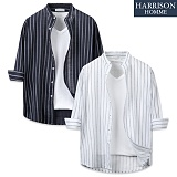 [해리슨] 사다리 셔츠 DON1278