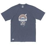 [언커먼팩터스]UFS-LOWRIDER NYC T-SHIRT(NAVY) 로우 라이더 엔와이씨 반팔 반팔티 티셔츠