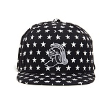 BLACK SCALE KNIGHT ALL STAR SNAPBACK (BLACK) 스냅백