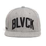 BLACK SCALE Wave Logo Snapback (Grey) 스냅백