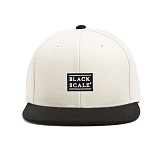 BLACK SCALE Quickhit Snapback Cream 스냅백