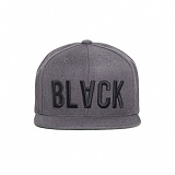BLACK SCALE Invert Snapback (Grey) 스냅백