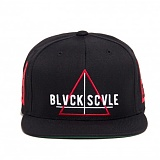BLACK SCALE Team Blvck Snapback Black 스냅백