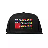 BLACK SCALE X DTA INTERNATIONAL HAT (Black) 스냅백