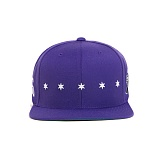 BLACK SCALE Star Spangle Snap Back PURPLE 스냅백
