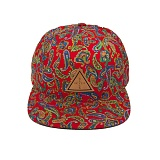 BLACK SCALE Palme Trois SnapBack RED  스냅백