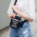 [로아드로아]ROIDESROIS - YOO HOO MINI CROSS BAG (BLACK) 가방 미니 크로스백