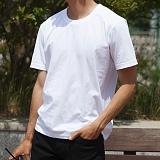 [모니즈] 30수 코마사 반팔 티셔츠 (4color) TSB085
