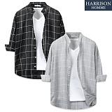 [해리슨] 큰 체크 셔츠 DON1257